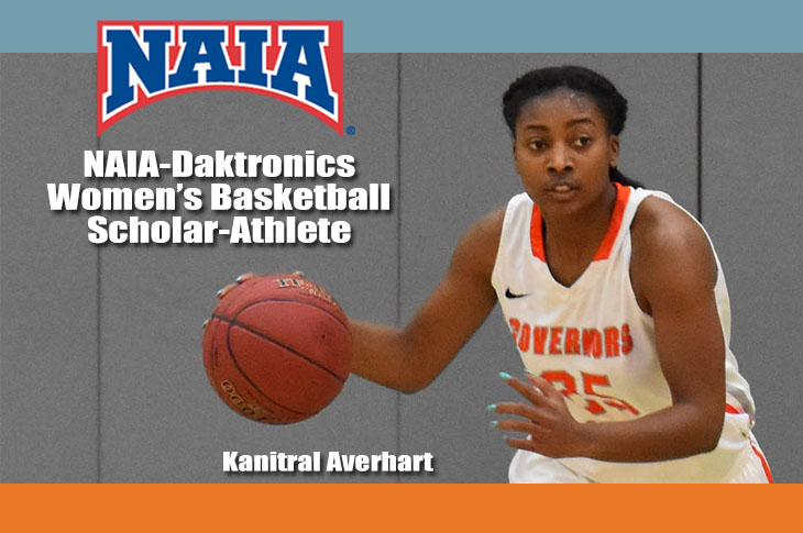 Photo for Averhart Named NAIA-Daktronics Scholar-Athlete
