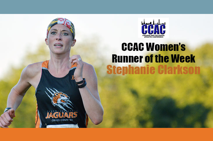 Photo for Clarkson Named CCAC Women's Runner of the Week