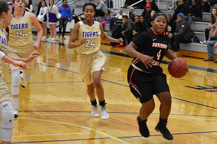 Chanel Howard tallied a team-high 18 points Wednesday night.