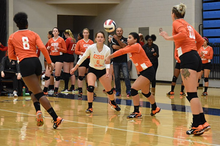 Photo for GSU Volleyball Drops Road Match at Purdue Northwest