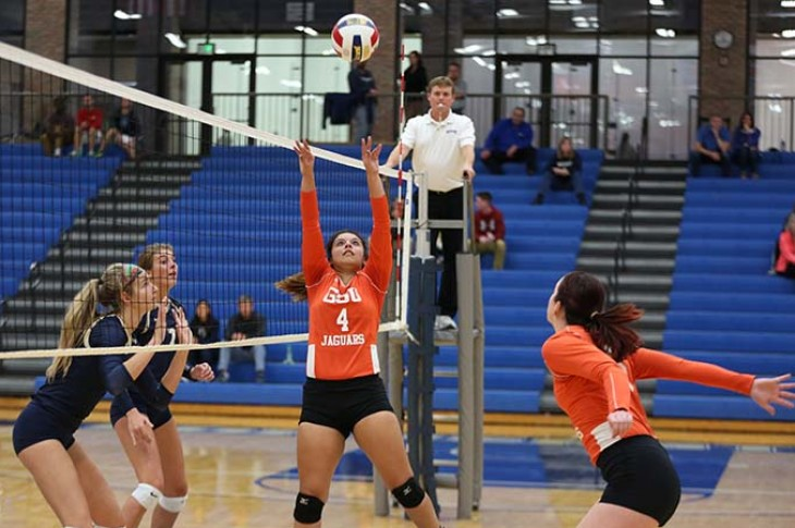 Photo for GSU Swept by ONU in CCAC Volleyball