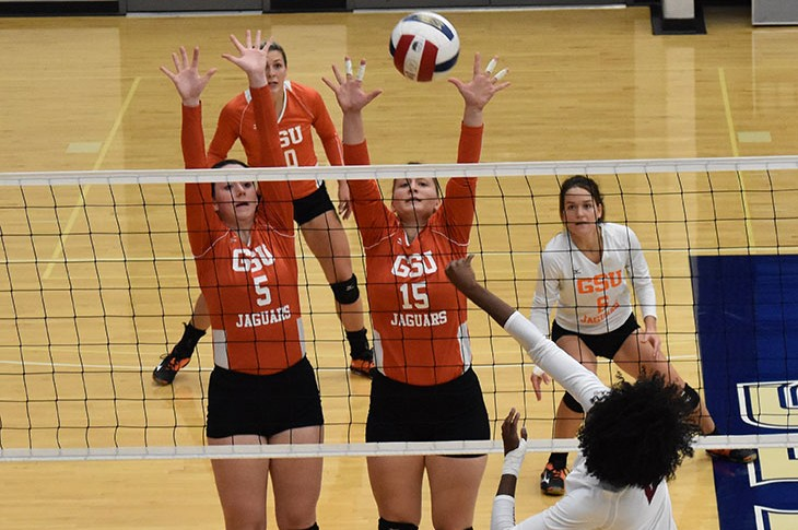 Photo for Volleyball Earns 10th Win of the Season