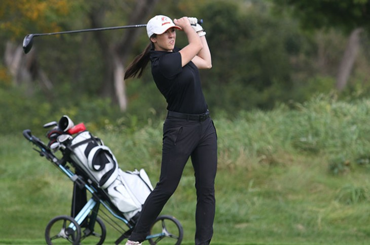 Nicole Brusich appeared in a school-record 12 consecutive tournaments.