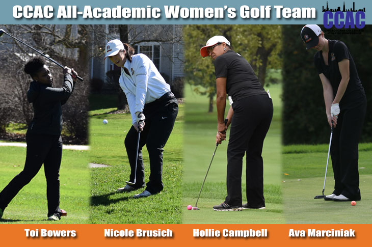 Photo for Four Golfers Named to CCAC All-Academic Team