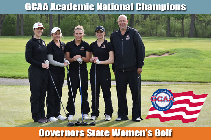 Photo for Women's Golf Secures GCAA Academic National Championship